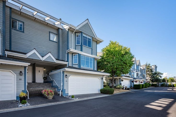 115 28 RICHMOND STREET - Fraserview NW Townhouse for sale, 3 Bedrooms (R2603835)