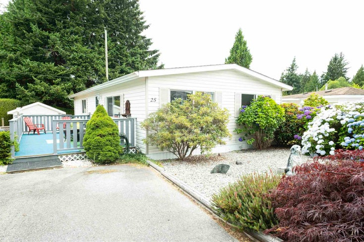 25 5575 MASON ROAD - Sechelt District Manufactured for sale, 2 Bedrooms (R2604018)