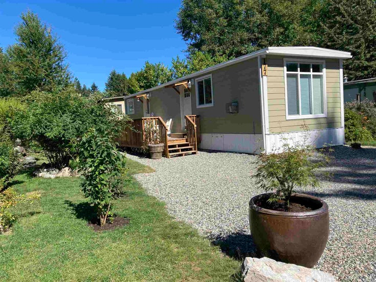 177 1413 SUNSHINE COAST HIGHWAY - Gibsons & Area Manufactured for sale, 1 Bedroom (R2604177)