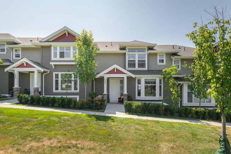 102 1392 TRAFALGAR STREET - Burke Mountain Townhouse for sale, 4 Bedrooms (R2604465)