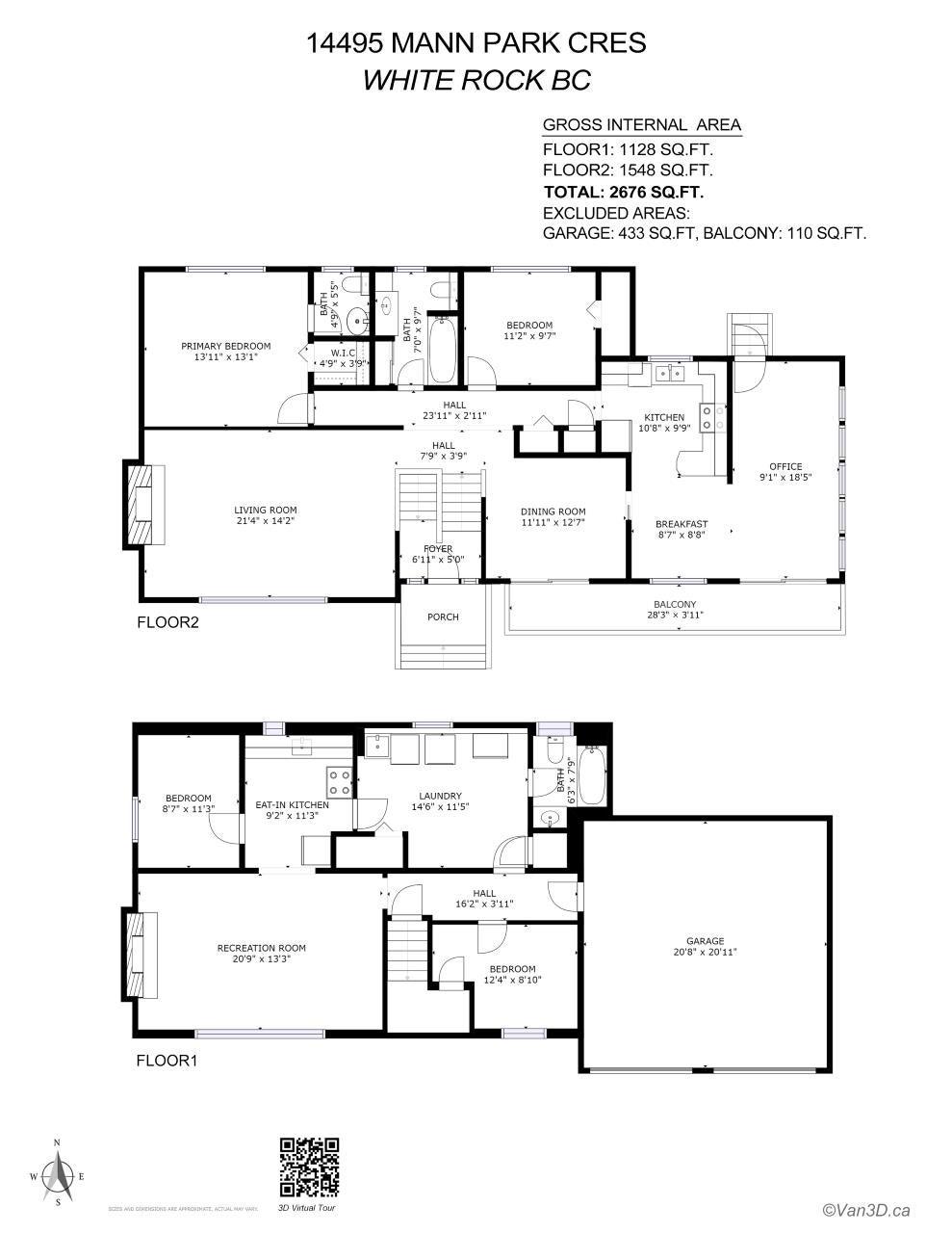 14495 MANN PARK CRESCENT - White Rock House/Single Family for sale, 4 Bedrooms (R2604561) - #6
