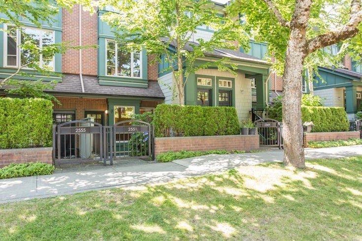 2551 EAST MALL - University VW Townhouse for sale, 3 Bedrooms (R2604703)