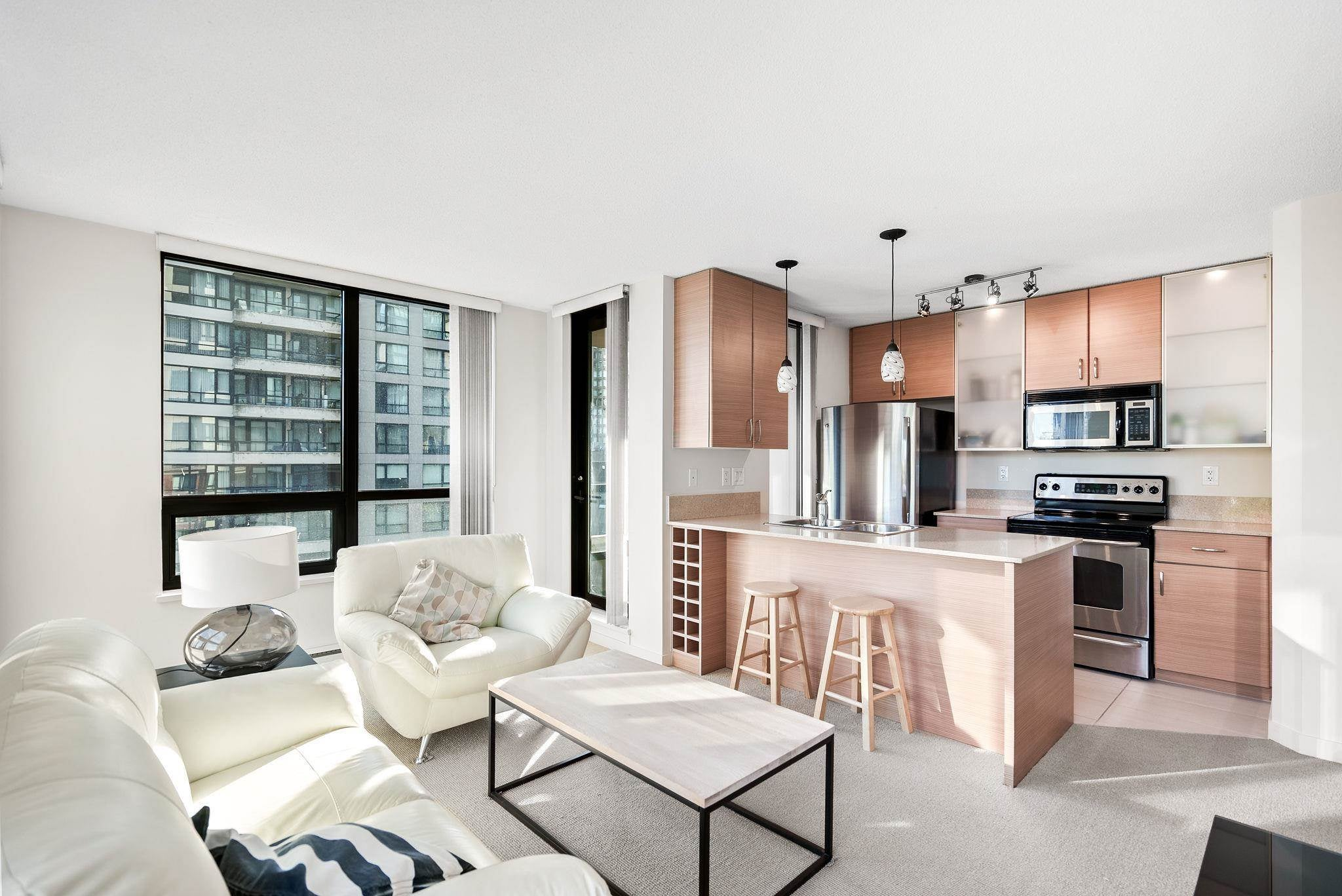 704 909 MAINLAND STREET - Yaletown Apartment/Condo for sale, 1 Bedroom (R2604846) - #1