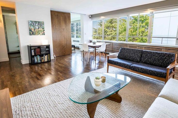 502 1445 MARPOLE AVENUE - Fairview VW Apartment/Condo for sale, 1 Bedroom (R2604961)