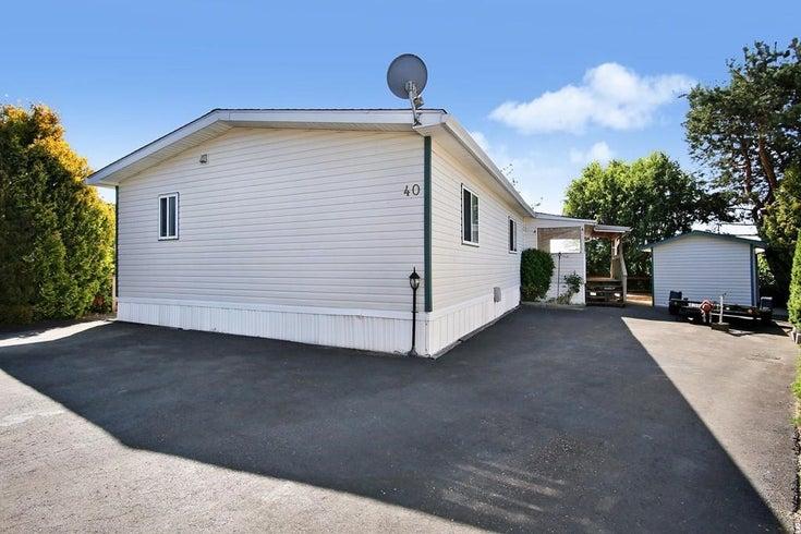 40 41168 LOUGHEED HIGHWAY - Dewdney Deroche Manufactured for sale, 3 Bedrooms (R2604982)