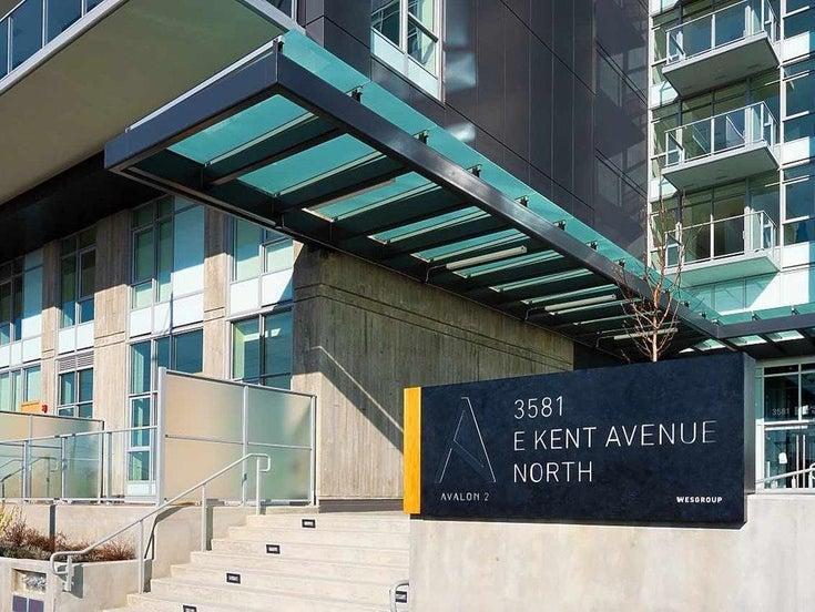 906 3581 E KENT AVENUE NORTH - South Marine Apartment/Condo for sale, 1 Bedroom (R2605264)