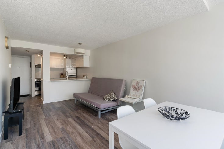 708 1270 ROBSON STREET - West End VW Apartment/Condo for sale, 1 Bedroom (R2605299)