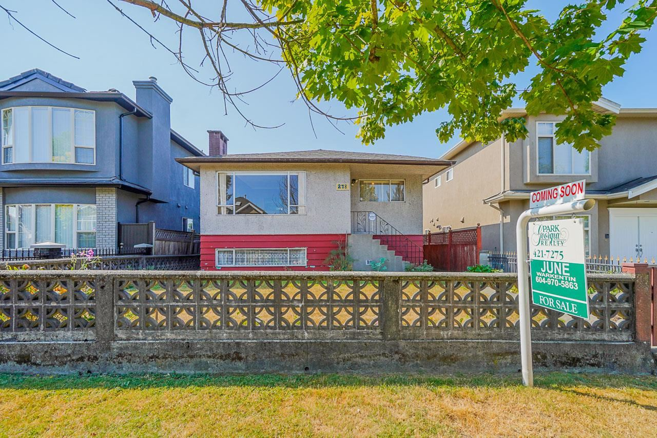 278 E 55TH AVENUE - South Vancouver House/Single Family for sale, 3 Bedrooms (R2605358) - #1