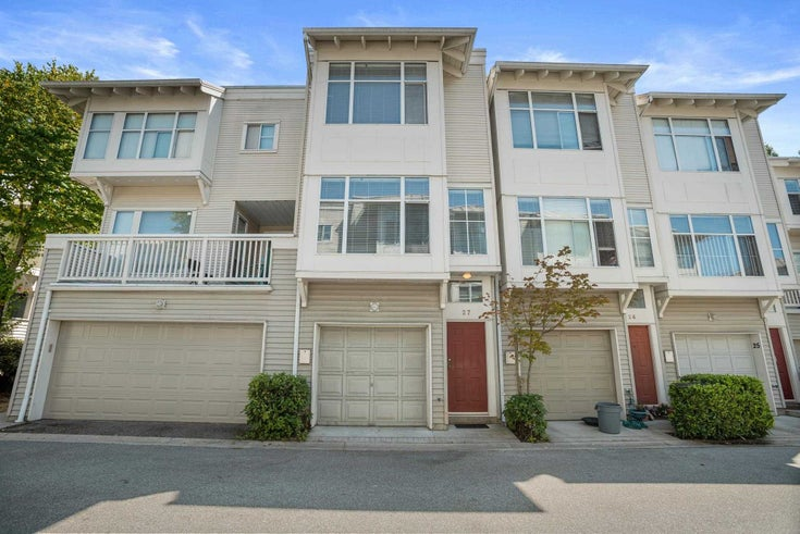 27 12920 JACK BELL DRIVE - East Cambie Townhouse for sale, 3 Bedrooms (R2605416)