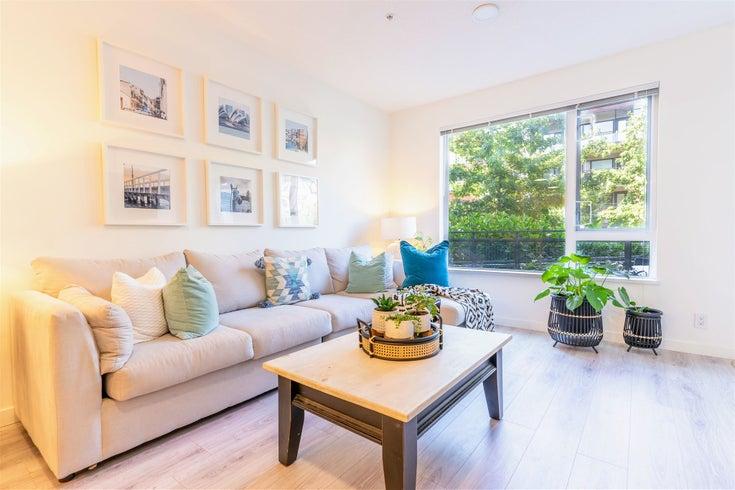 111 3138 RIVERWALK AVENUE - South Marine Apartment/Condo for sale, 2 Bedrooms (R2605655)