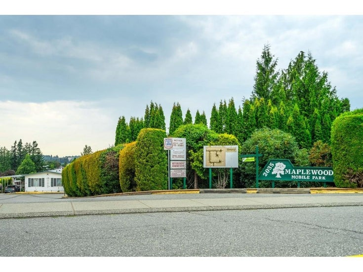 25 2035 MARTENS STREET - Abbotsford West Manufactured for sale, 2 Bedrooms (R2605697)
