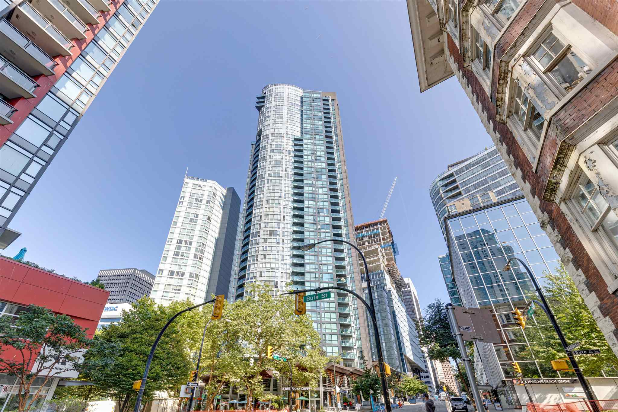 801 1189 MELVILLE STREET - Coal Harbour Apartment/Condo for sale, 2 Bedrooms (R2605810)