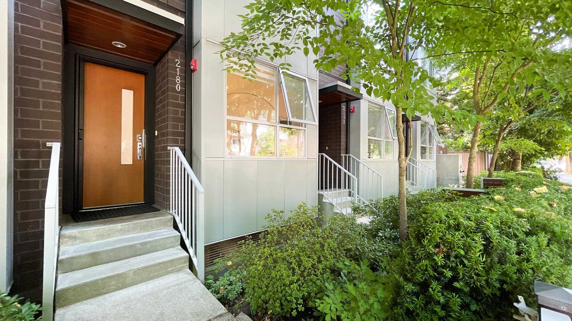 2180 W 8TH AVENUE - Kitsilano Townhouse for sale, 3 Bedrooms (R2605836)