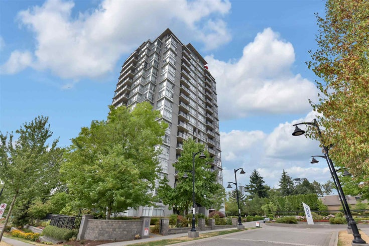 806 555 DELESTRE AVENUE - Coquitlam West Apartment/Condo for sale, 2 Bedrooms (R2605954)