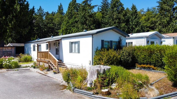 1 5575 MASON ROAD - Sechelt District Manufactured for sale, 2 Bedrooms (R2605961)