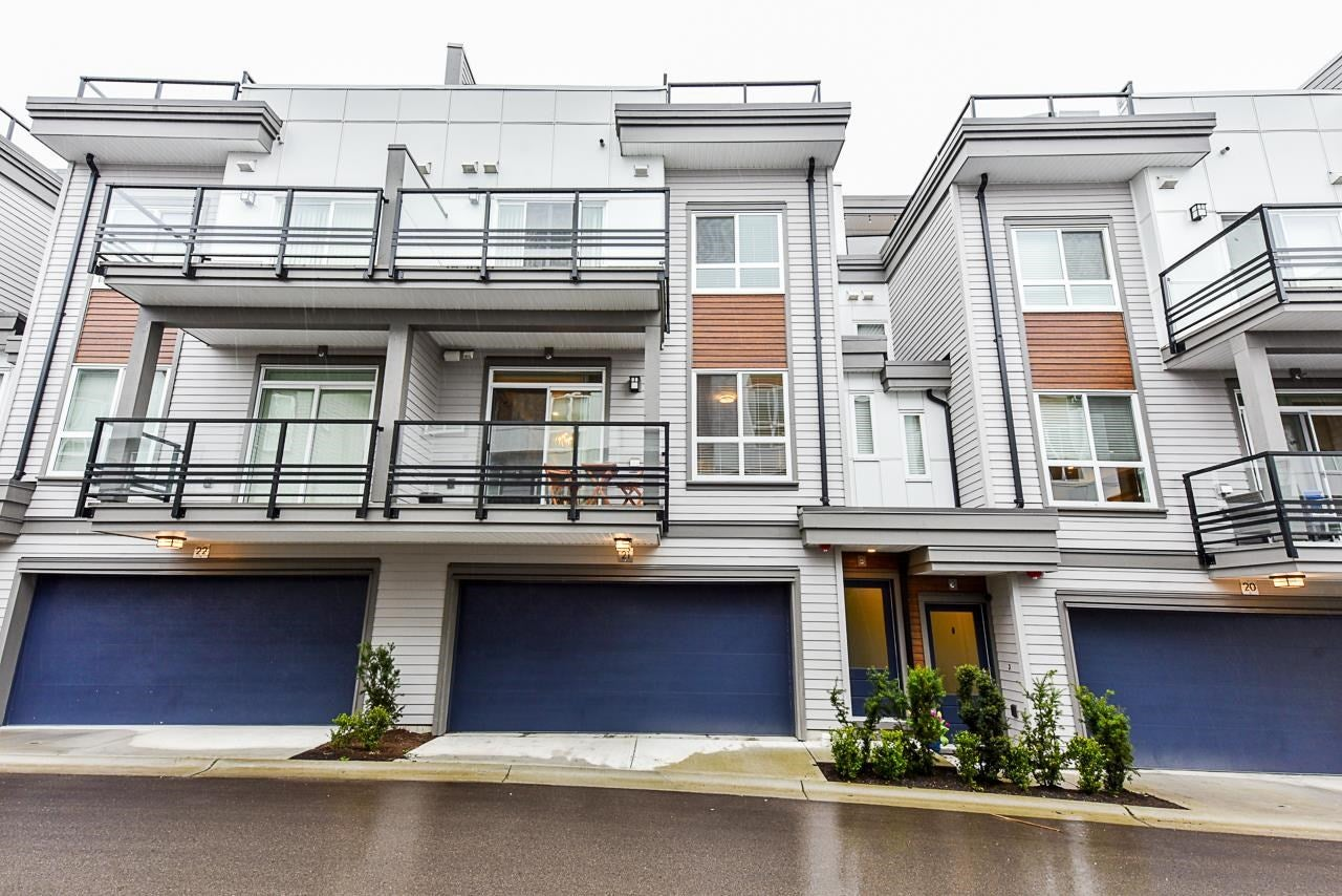 21 7947 209 STREET - Willoughby Heights Townhouse for sale, 3 Bedrooms (R2605973) - #1