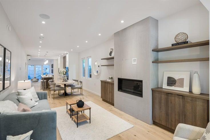 2146 W 1ST AVENUE - Kitsilano 1/2 Duplex for sale, 2 Bedrooms (R2606015)