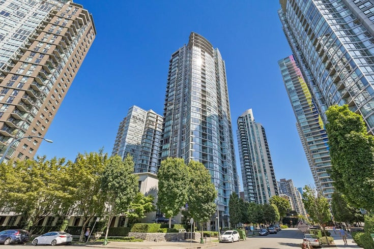 708 1495 RICHARDS STREET - Yaletown Apartment/Condo for sale, 1 Bedroom (R2606162)