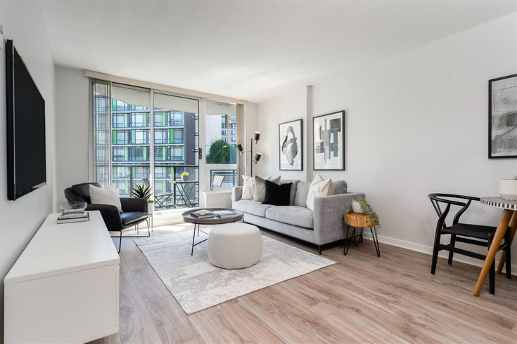 907 1212 HOWE STREET - Downtown VW Apartment/Condo for sale, 1 Bedroom (R2606200)