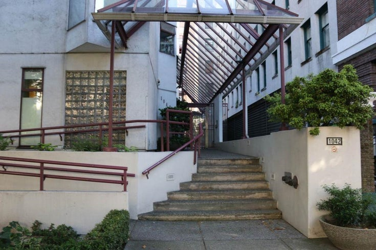 102 1042 NELSON STREET - West End VW Apartment/Condo for sale, 1 Bedroom (R2606360)
