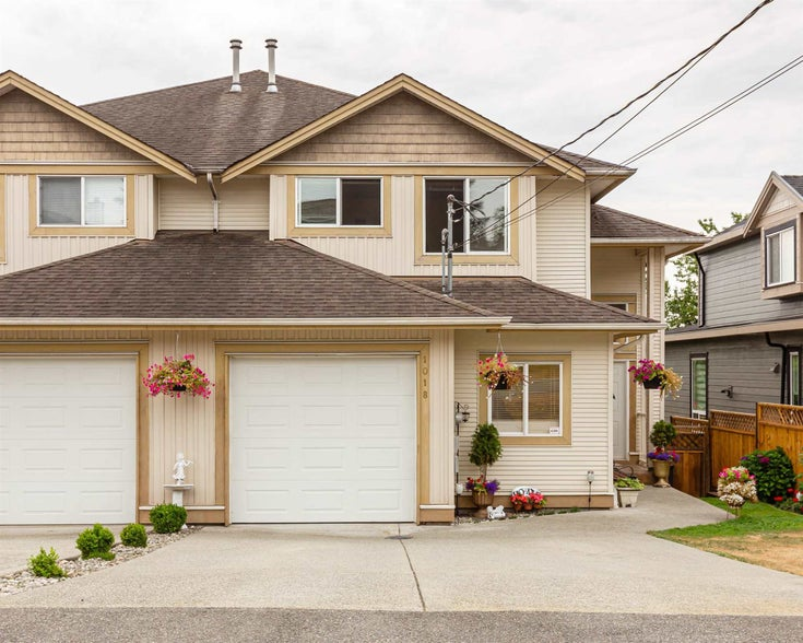 1018 MADORE AVENUE - Central Coquitlam 1/2 Duplex for sale, 3 Bedrooms (R2606386)