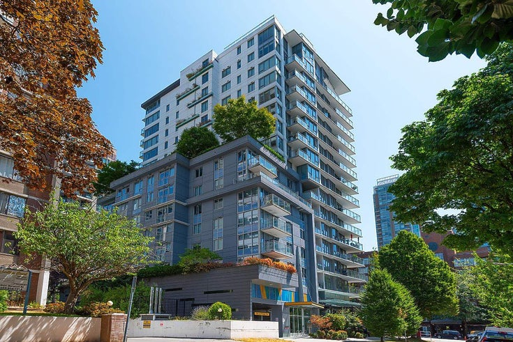 805 1009 HARWOOD STREET - West End VW Apartment/Condo for sale, 1 Bedroom (R2606473)