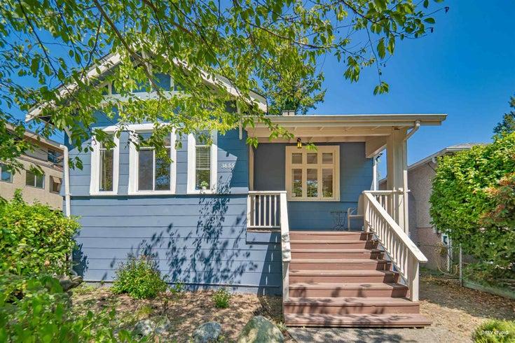 3655 W 5TH AVENUE - Kitsilano House/Single Family for sale, 5 Bedrooms (R2606584)