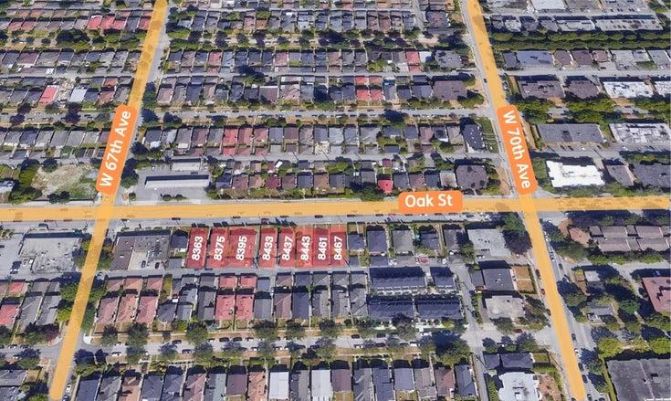 8461 OAK STREET - Marpole Duplex for sale, 3 Bedrooms (R2606635)