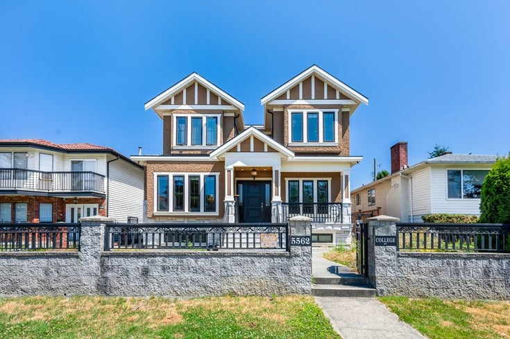 5562 COLLEGE STREET - Collingwood VE House/Single Family for sale, 6 Bedrooms (R2606679)