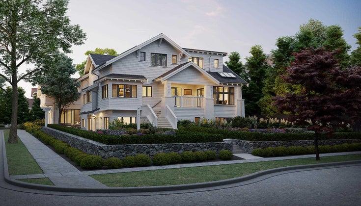 1 2499 W 37 AVENUE - Kerrisdale Townhouse for sale, 3 Bedrooms (R2606998)