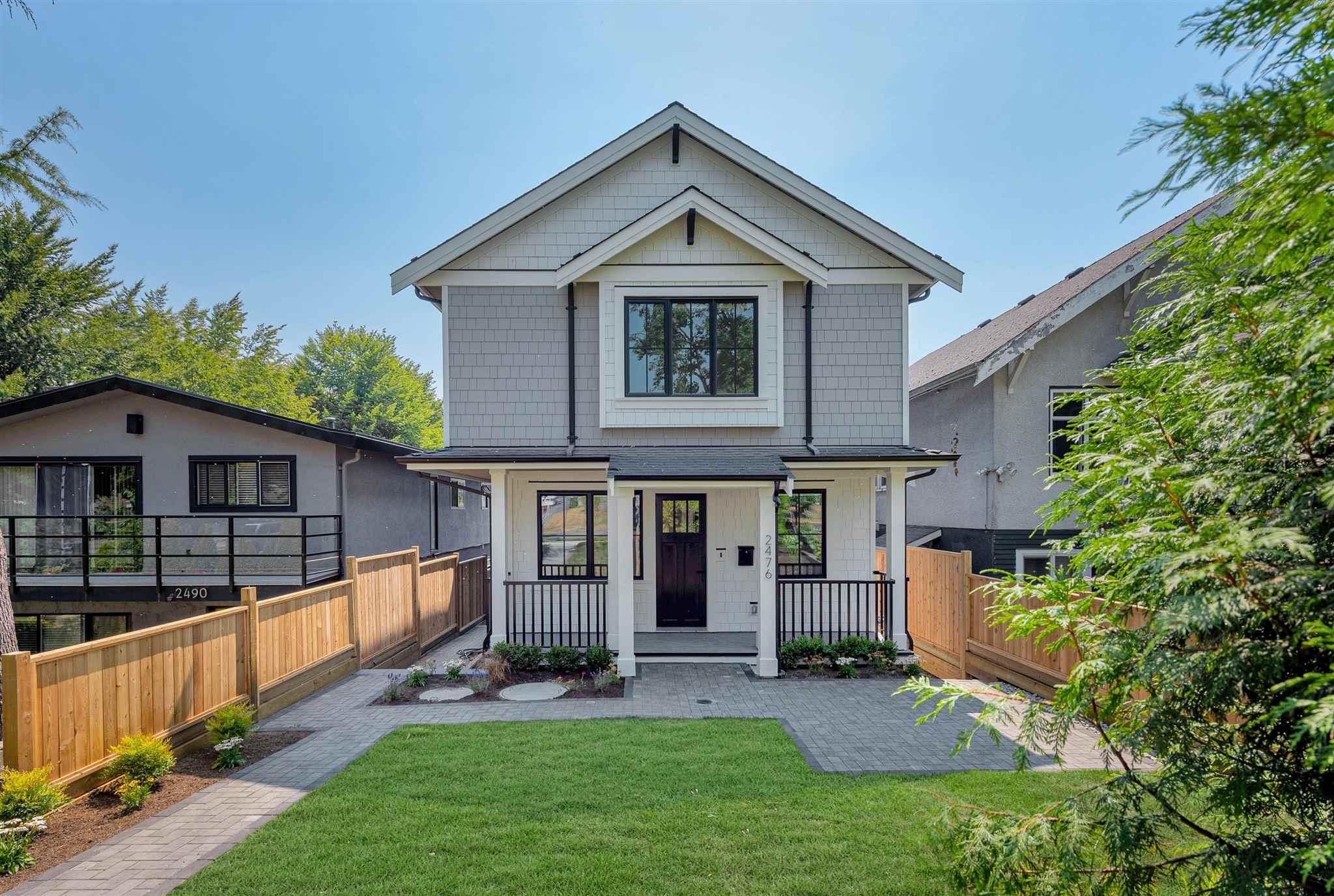 2476 E PENDER STREET - Renfrew VE 1/2 Duplex for sale, 3 Bedrooms (R2607046) - #1