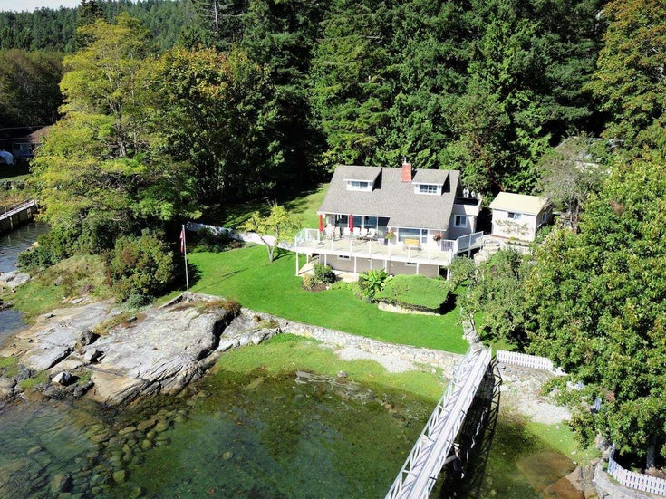 4760 SINCLAIR BAY ROAD - Pender Harbour Egmont House/Single Family for sale, 4 Bedrooms (R2607231)