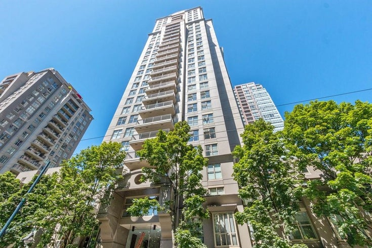 2008 969 RICHARDS STREET - Downtown VW Apartment/Condo for sale, 1 Bedroom (R2607367)