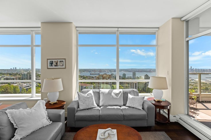 1801 1320 CHESTERFIELD AVENUE - Central Lonsdale Apartment/Condo for sale, 2 Bedrooms (R2608424)
