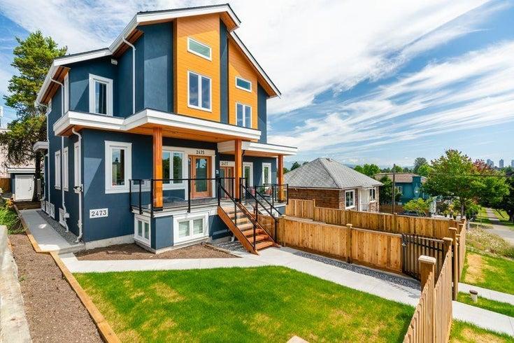 2475 E 2ND AVENUE - Renfrew VE 1/2 Duplex for sale, 5 Bedrooms (R2609212)