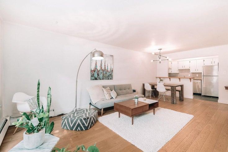 106 1877 W 5TH AVENUE - Kitsilano Apartment/Condo for sale, 1 Bedroom (R2609580)