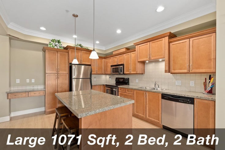 303 22150 DEWDNEY TRUNK ROAD - West Central Apartment/Condo for sale, 2 Bedrooms (R2609645)
