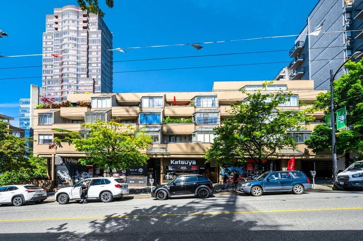 407 1455 ROBSON STREET - West End VW Apartment/Condo for sale, 2 Bedrooms (R2609998)