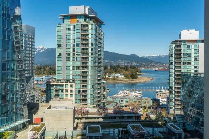801 1415 W GEORGIA STREET - Coal Harbour Apartment/Condo for sale, 2 Bedrooms (R2610396)