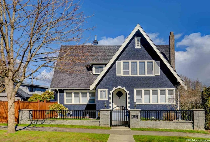 1107 CONNAUGHT DRIVE - Shaughnessy House/Single Family for sale, 4 Bedrooms (R2610812)