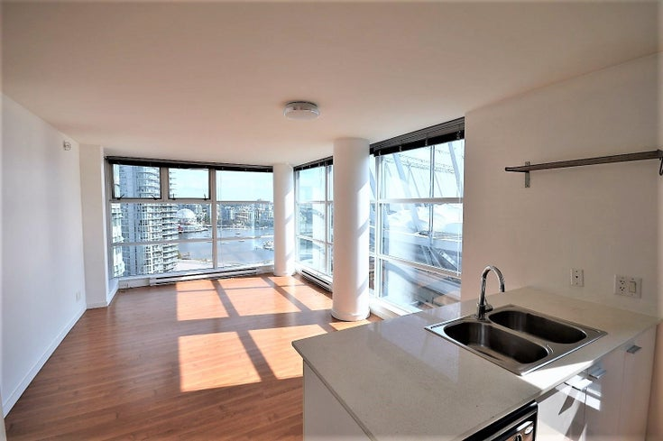 1801 111 W GEORGIA STREET - Downtown VW Apartment/Condo for sale, 2 Bedrooms (R2611009)