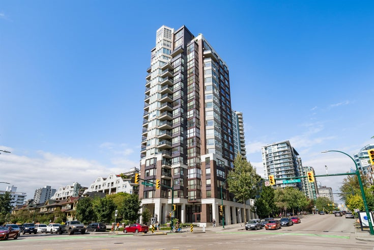 1708 1003 PACIFIC STREET - West End VW Apartment/Condo for sale, 2 Bedrooms (R2611084)