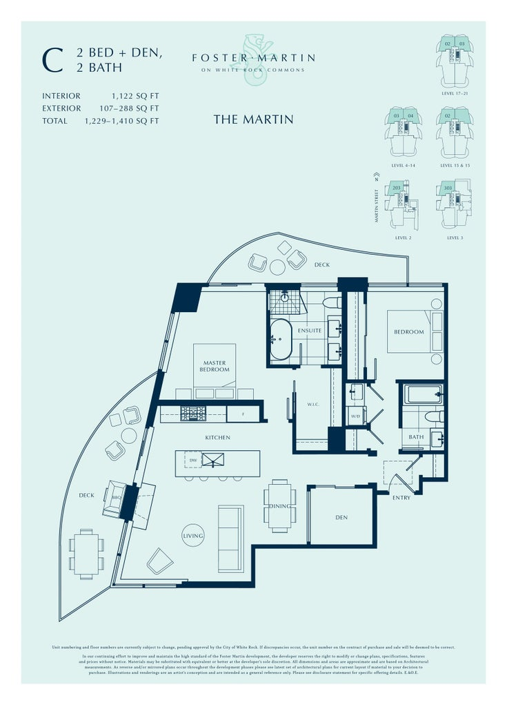 1802 1501 FOSTER STREET - White Rock Apartment/Condo for sale, 2 Bedrooms (R2611123)