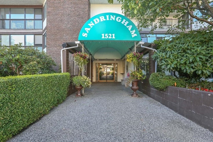 301 1521 BLACKWOOD STREET - White Rock Apartment/Condo for sale, 2 Bedrooms (R2611441)