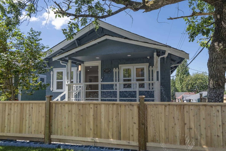 1231 SALSBURY DRIVE - Grandview Woodland House/Single Family for sale, 4 Bedrooms (R2611669)