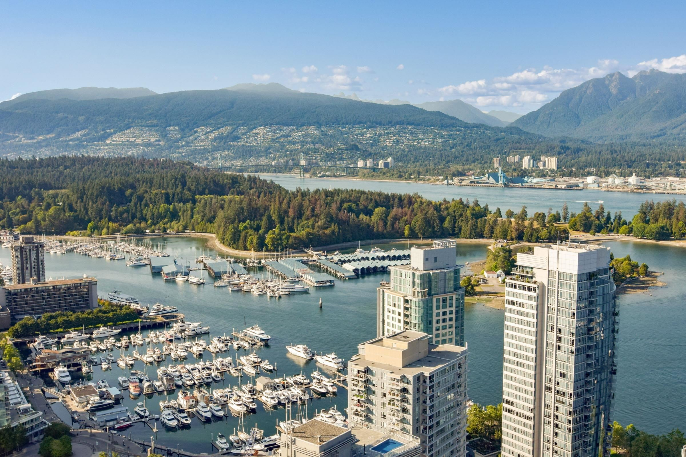 3401 1189 MELVILLE STREET - Coal Harbour Apartment/Condo for sale, 3 Bedrooms (R2611685) - #1