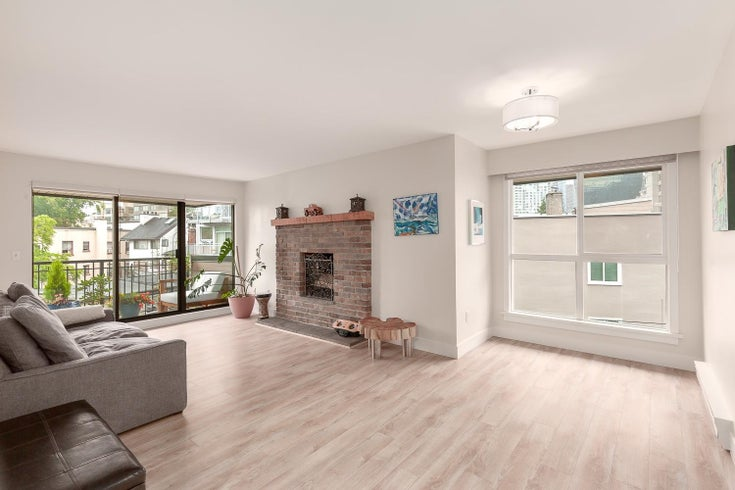 406 1157 NELSON STREET - West End VW Apartment/Condo for sale, 1 Bedroom (R2611851)