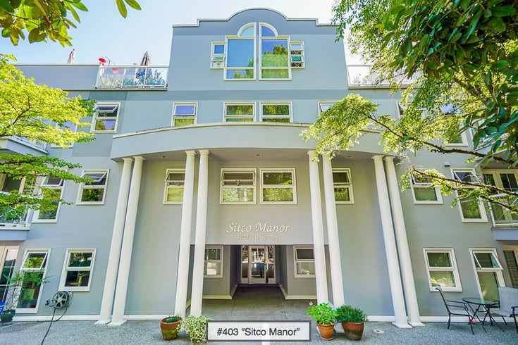 403 1023 WOLFE AVENUE - Shaughnessy Apartment/Condo for sale, 3 Bedrooms (R2612381)