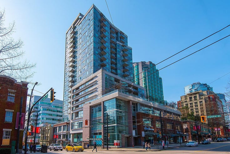 510 821 CAMBIE STREET - Downtown VW Apartment/Condo for sale, 1 Bedroom (R2612444)