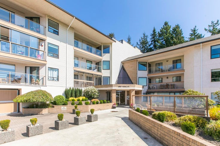 617 1350 VIDAL STREET - White Rock Apartment/Condo for sale, 2 Bedrooms (R2612513)